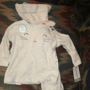 Carter's baby bunny 3 pc outfit 3 month